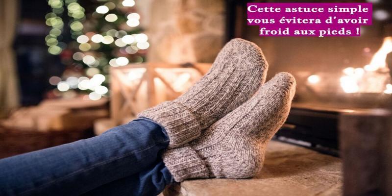 Les basses températures peuvent donner l'impression que vos mains et vos pieds sont gelés. Ce que nous préférons éviter !