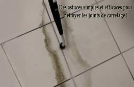 Exposés à l'humidité et aux éclaboussures, que ce soit dans une salle d'eau comme la salle de bains, ou dans la cuisine, les joints de carrelage ont tendance à grisailler, noircir voire à s'entartrer. Pour rester propres, les joints de carrelage demandent de l'entretien. Voici quelques conseils et astuces pour nettoyer vos joints de carrelage.