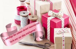 Si l'attente fait partie du plaisir, l'emballage cadeau participe à la joie de recevoir.