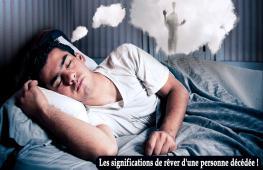Rêver d'une personne décédée : Nous faisons tous des rêves, dont certains sont plus marquants que d'autres. Il vous est déjà sûrement arrivé de rêver d'une personne décédée. Dans cet article, vous découvrirez ce que signifie le fait de rêver d'une personne décédée.