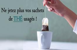 Que vous utilisiez un sachet de thé ou du thé en vrac, gardez soigneusement le thé ! Après son utilisation classique en boisson, le recyclage est possible, à la fois pour la santé, en cuisine ou au jardin.