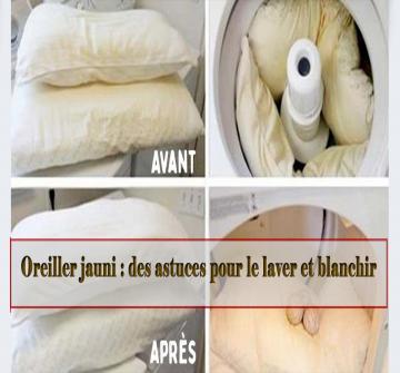 Avec le temps, il est une chose contre laquelle vous avez du mal à lutter : votre oreiller jaunit. Vous utilisez pourtant une taie d'oreiller pour en prendre soin, mais cela ne semble pas suffire… Alors, quelles sont les astuces pour essayer de récupérer un oreiller jauni ?