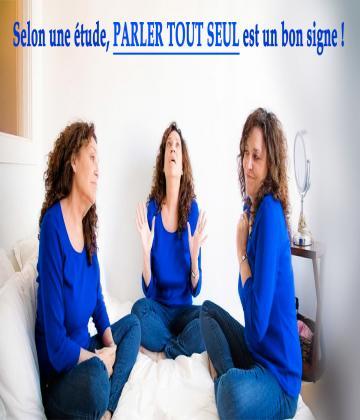 Dans la rue, devant votre miroir, derrière votre ordinateur... Non, parler tout seul n'est pas signe de démence. Au contraire, une étude met en avant les bienfaits de se parler à soi-même et ils sont plutôt surprenants !