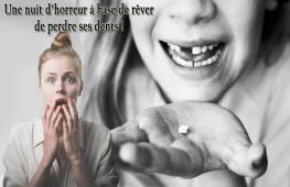 Rêver de perdre ses dents est un rêve très fréquent qu'on arrive pas toujours à interpréter, mais qui revêt en réalité de nombreuses significations.