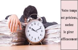 Vous avez souvent l'impression de ne pas avoir assez de temps dans la journée ? Pas assez de temps pour faire tout ce que vous voulez ? Voici nos conseils et astuces pour mieux gérer votre temps et travailler efficacement.