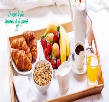 En fait, les gens qui sont en bonne santé mangent ces choses au petit déjeuner. Ils ne le sautent pas comme vous le faites !