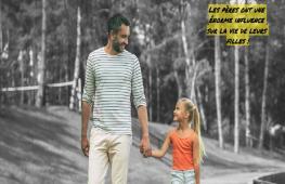 Les filles aiment beaucoup leurs pères. En effet, il existe souvent un lien très fort entre une fille et son papa. Et pour cause ! Il est le premier homme de sa vie.