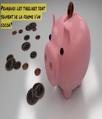 Quelles est la relation entre le cochon et la culture de l'épargne? Que symbolise la forme de  cochon ?
