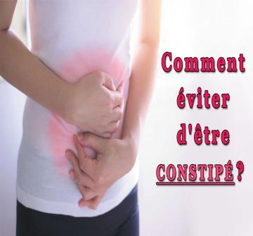 La constipation, problème intestinal qui touche plus particulièrement la population féminine, peut vraiment vous faire souffrir et se répercuter sur votre vie quotidienne. Modifier certaines habitudes du quotidien permettent de réduire les risques de constipation.