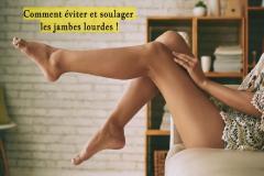 Sensation de lourdeur dans les jambes, chevilles gonflées, fourmillements : 1 adulte sur 3 souffre d'insuffisance veineuse.