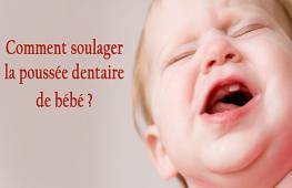 Ce phénomène qui ravit les parents s'appelle la poussée dentaire. Ce n'est pas toujours une partie de plaisir pour le nourrisson.