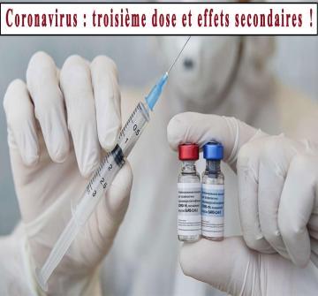 Les effets secondaires observés après une dose de rappel des vaccins anti-Covid de Pfizer et Moderna sont