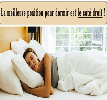 Les scientifiques qui se sont penchés sur la question ont une préférence.  Parmi eux François Duforez, spécialiste du sommeil à l'Hôtel-Dieu de Paris, indique que la position idéale pour le corps est sur le côté droit. Voilà pourquoi.