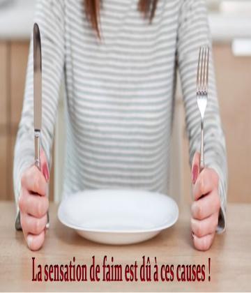 Avez-vous constamment la sensation de faim où votre cerveau pense-t-il constamment à la nourriture ? Prêtez attention à cet article, car voici les causes de cette sensation gênante.
