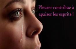 Pleurer peut vous rendre plus sain ; La nouveauté, c'est que les médecins sont en train de découvrir que les larmes peuvent aussi aider à guérir notre corps.
