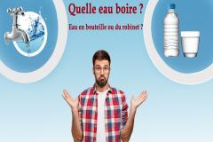 Eau du robinet ou eau en bouteille, quelle eau boire ? Le choix n'est pas toujours facile, tant les informations sont multiples et contradictoires, les publicités influentes et les intérêts économiques puissants.
