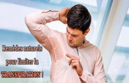 Coups de sueur, odeurs désagréables… Pour éviter ces désagréments liés à la transpiration, testez ces solutions naturelles pour retrouver un meilleur bien-être.