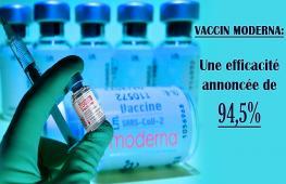 Après Pfizer/BioNTech, le vaccin de Moderna vient d'être autorisé par les autorités sanitaires françaises. Le vaccin Moderna est un vaccin à ARN messager. Le 5 août, le laboratoire américain confirme une efficacité de 93% contre le Covid, durable 6 mois après la 2ème dose.