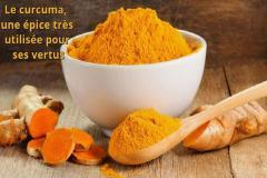 le curcuma! un Excellent épice pour soigner de nombreux problèmes !