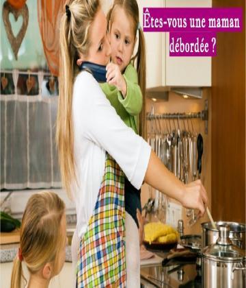 Le job de maman est le plus exigeant du monde : le nombre de tes enfants, les heures dévolues à ta carrière et celles consacrées à ton homme !