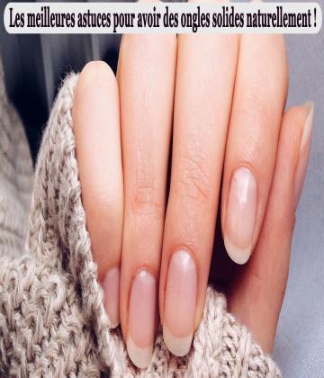 Afficher une jolie manucure, ce n'est pas qu'une histoire de vernis, il faut aussi que la base soit impeccable. Vos ongles sont mous, fragiles et cassants ? Découvrez les meilleures astuces pour leur redonner force et santé.